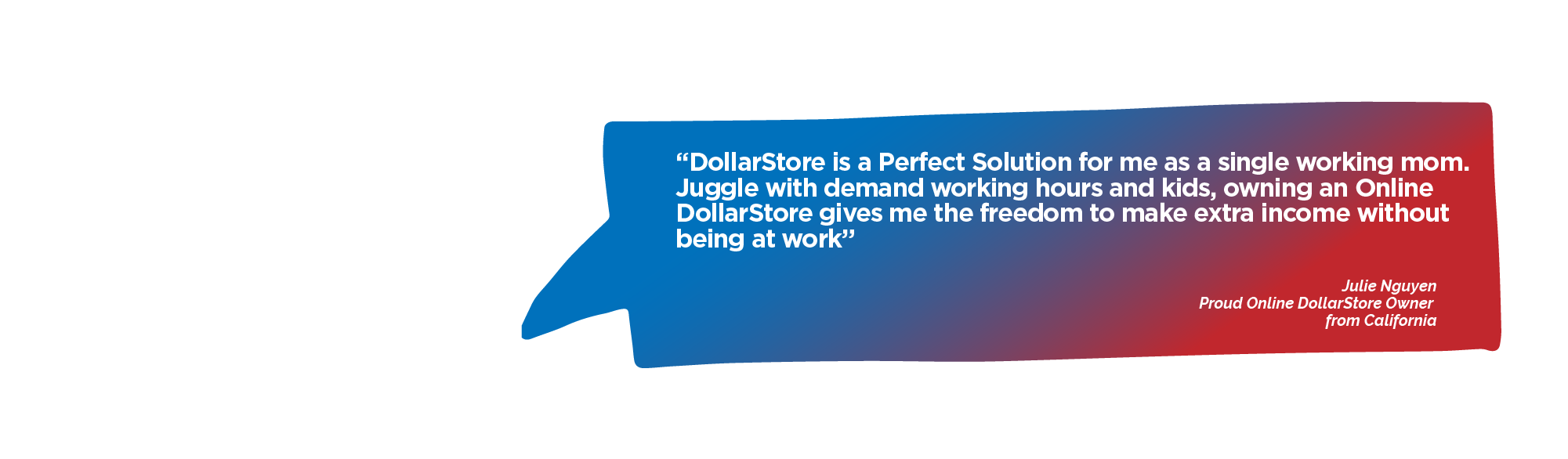 Review Julie Nguyen at the DollarStore